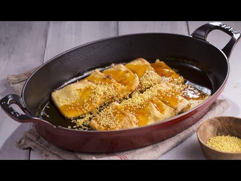 果酱炸奶豆腐,蒙古人的传统小点