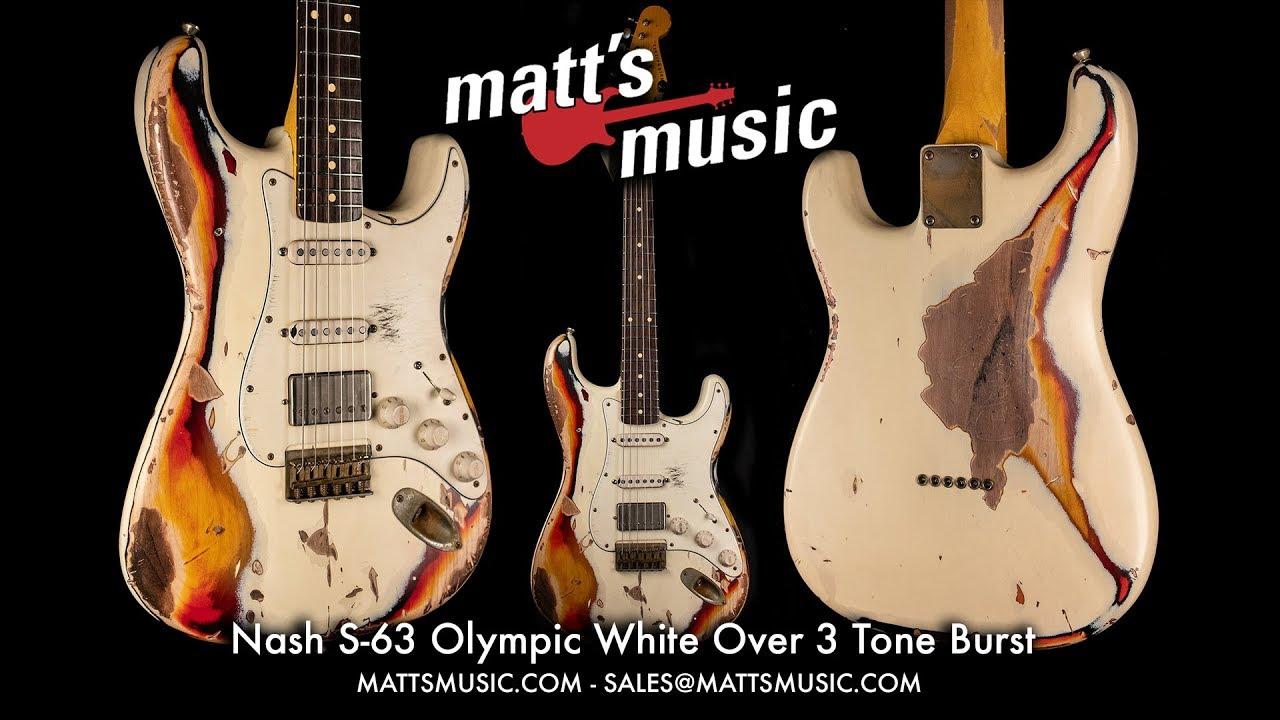 Matt's Music - Nash S-63 Stratocaster with Hardtail Bridge - Chris Bryant -  Dr  Z DB4