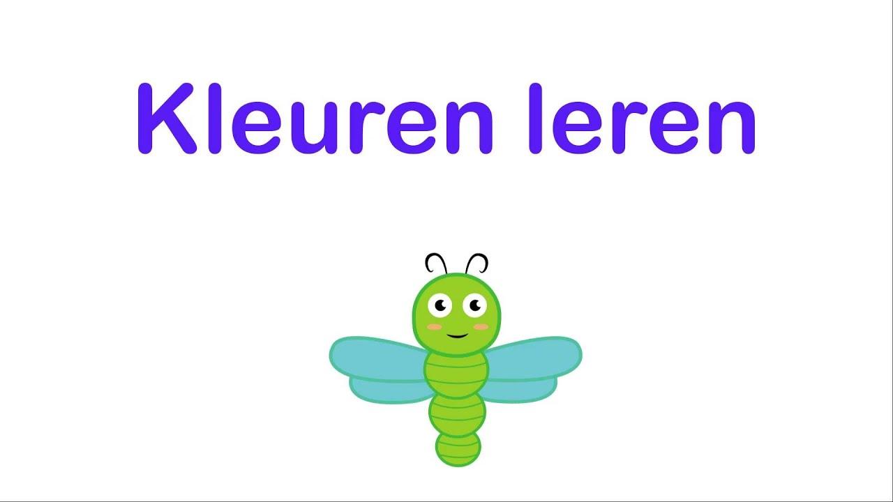 Verwonderlijk Kleuren leren voor Peuters en Kleuters - YouTube PH-67