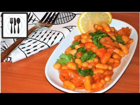 Фасоль в томатном соусе, или Лобио по-Турецки. ПП Рецепт из белой фасоли/Kuru Fasulye