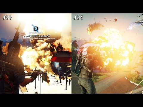 Just Cause 3 VS Just Cause 4 Graphics Comparison PS4
