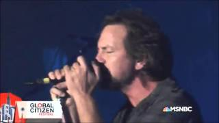 Pearl Jam - Given To Fly @Global Citizen Festival 2015