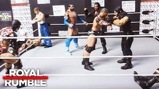 30-Man Royal Rumble Match: WWE Royal Rumble: WWE Action Figure Stop Motion