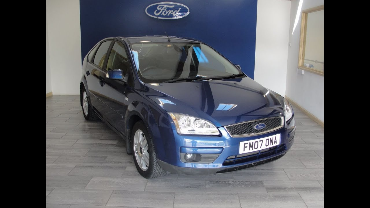 2007 Ford Focus 2 0 Ghia Now Sold