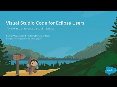 VS Code IDE for Eclipse Users