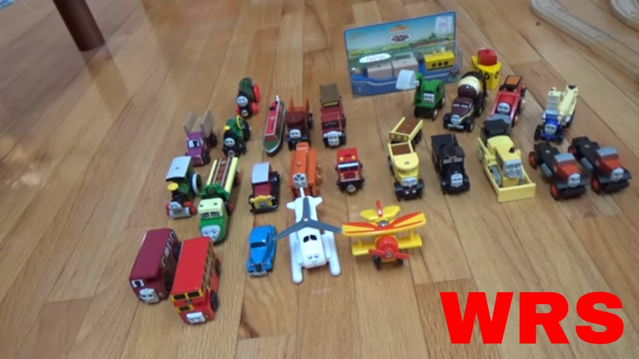 Thomas Wooden Railway Non Rail Vehicles Collection 4 10