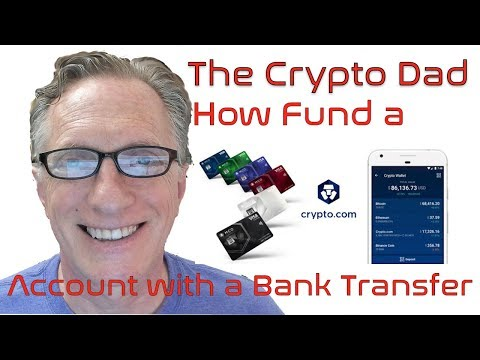 How To Fund Your Crypto.com Account With A Bank Transfer