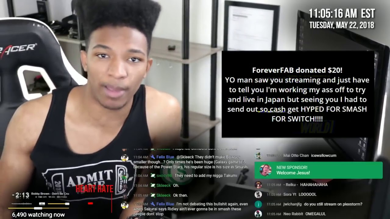 Etika Reacts to super smash bros switch leaks Ridley and Crash Bandicoot  in smash?