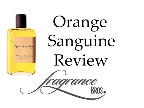 Orange Sanguine By Atelier Cologne Review! Happy Orange!
