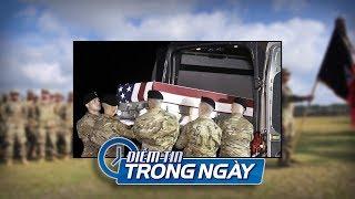 3 quân nhân Mỹ thiệt mạng trong buổi huấn luyện tại căn cứ Fort Stewart, Georgia