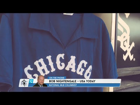 official photos c5fac d529e Bob Nightengale of USA Today Says White Sox Players Watched Chris Sale Cut  Up Team Jerseys - 7/27/16