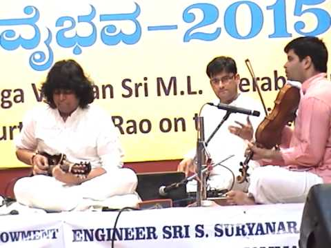 The Bangalore Gayana Samaja - Vaadya Vaibhava - 2015 -  clip -  1