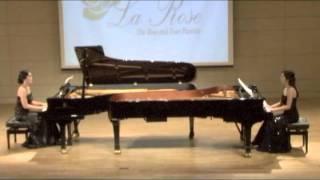 [라 로제]La Rose - S Rachmaninoff Russian Rhapsody for 2pianos 4hands