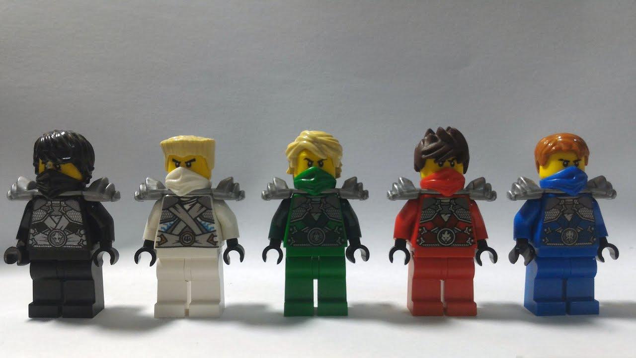 Custom Lego Ninjago Rebooted Minifigures Techno Silver