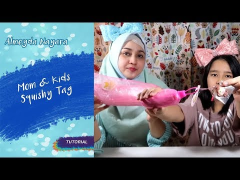 Kompaknya Naya & Mama Bikin Squishy Collection!