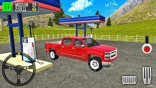 Ford F150 픽업 트럭 운전사-드라이빙 아일랜드 : 배달 퀘스트-Android 게임 플레이