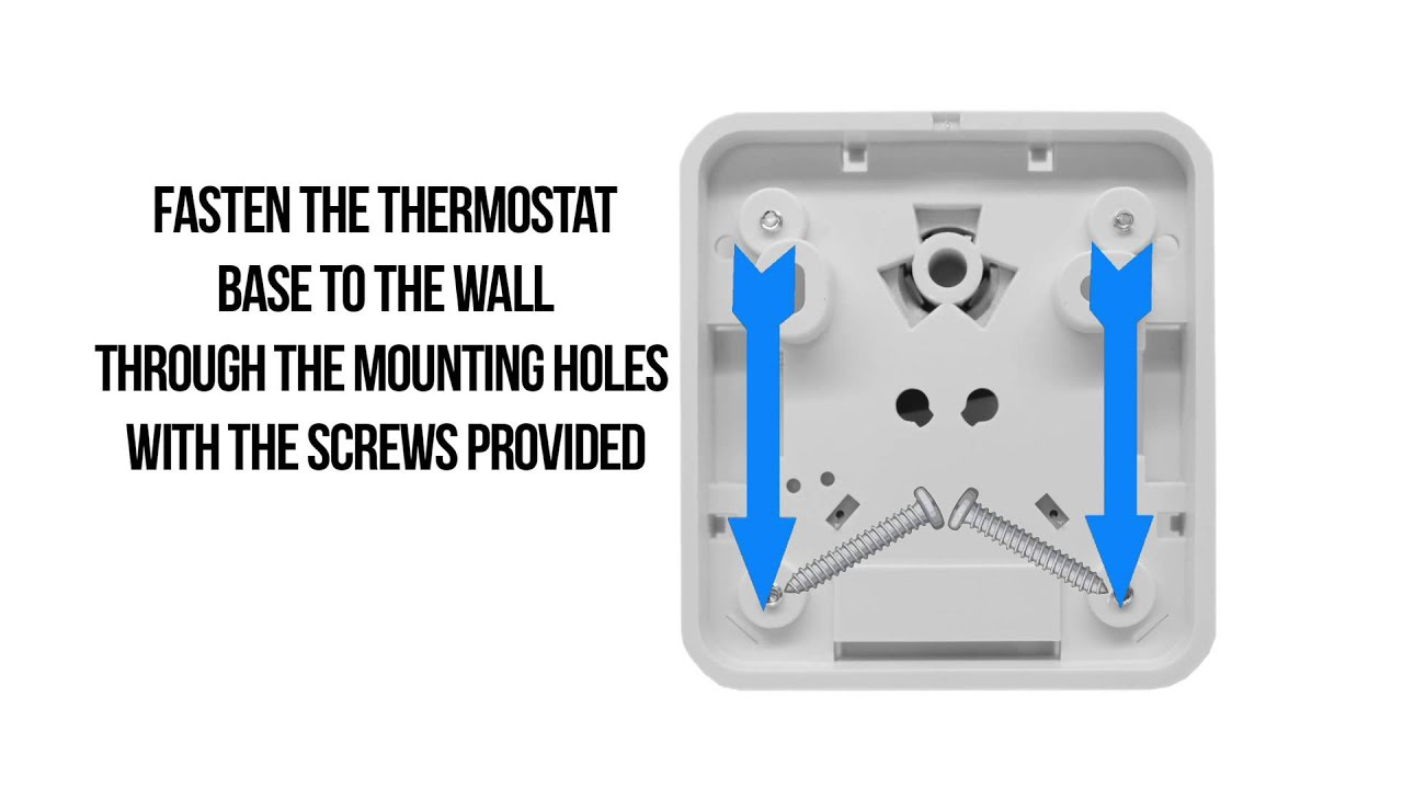 How To Correctly Wire The Thermostat Youtube Mobile Home Electric Furnace Wiring Diagram