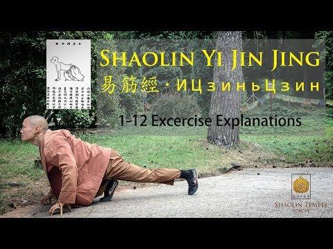 易筋經 · Yi Jin Jing 1-12 · Full Explanations · ИЦзиньЦзин +subtitles