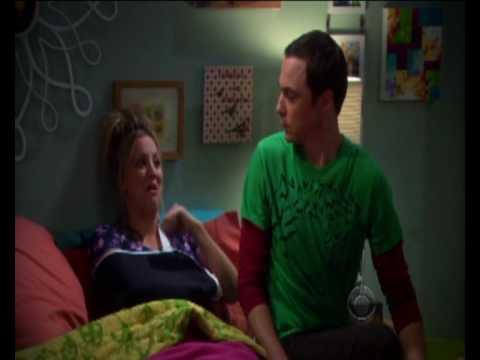 Sheldon Y Penny Cantando Dulce Gatito The Big Bang Theory Youtube