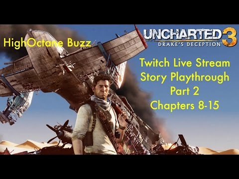 Uncharted 3: Drake's Deception Campaign Part 2 - Let's Play Gameplay Walkthrough