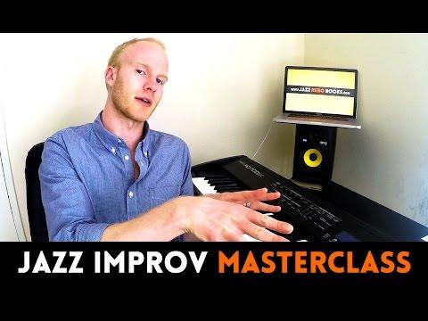 JAZZ IMPROVISATION MASTERCLASS - with Julian Bradley