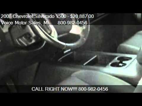 2008 chevrolet silverado 1500 2lt z 71 4x4 crew cab short for Voice motors kalkaska michigan