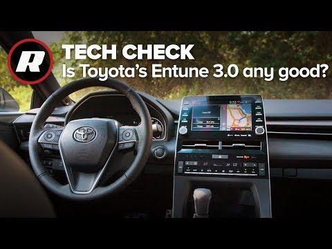 Tech Check: 2019 Toyota Avalon Entune 3.0 infotainment system