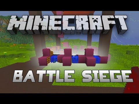 SETTING TRAPS! - Battle Siege W/Nooch & Woofless - Part 1 (Minecraft)