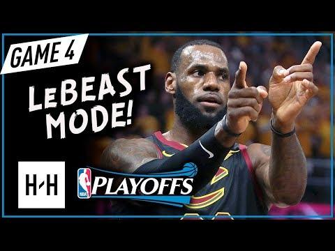 LeBron James EPIC Full Game 4 Highlights vs Celtics 2018 Playoffs ECF - 44 Points, LeBOSTON!