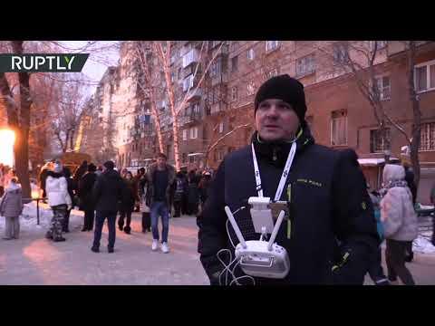 Житель Магнитогорска использовал квадрокоптер для помощи спасателям
