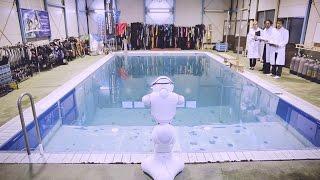 【4月1日限定!】Pepper に 遊泳機能「フィッシュモード」搭載!