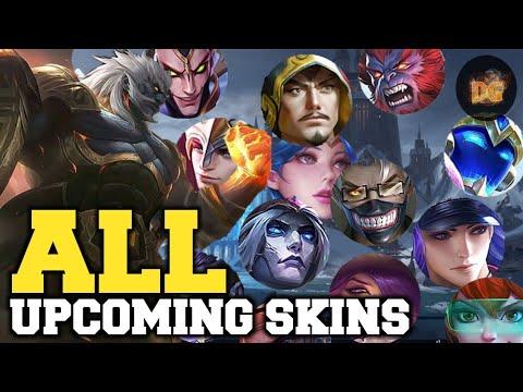 ALL UPCOMING SKINS Coming To Mobile Legends:Bang Bang!