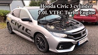 This Is the Smallest Engine Honda Puts In the New Civic