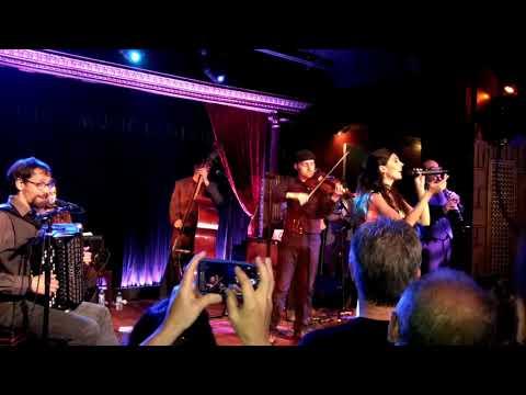 Barcelona Gipsy Balkan Orchestra United States Debut