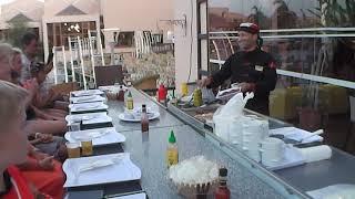 Отличный отель Али Баба Хургада Египет Ужин в азиатском ресторане отеля Отдых в Египте