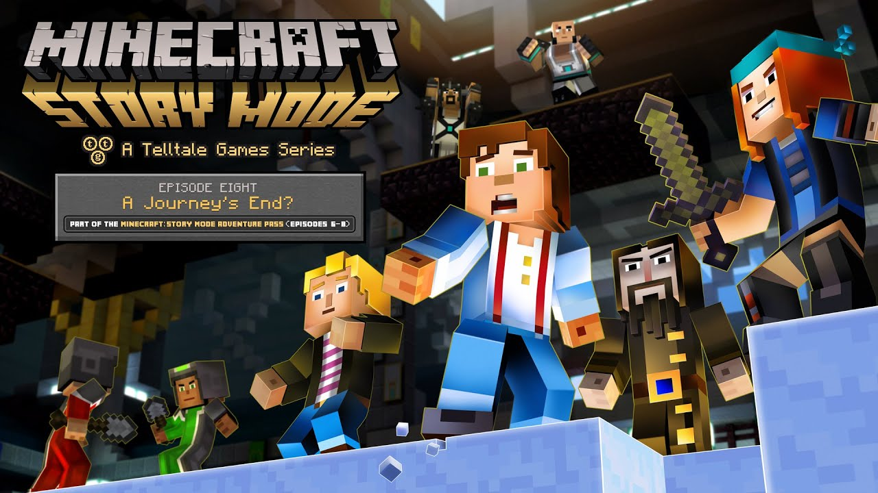 \u0027Minecraft Story Mode\u0027 Episode 8 , \u0027A Journey\u0027s End?\u0027 Trailer , YouTube