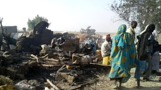 Nigerian air force mistakenly bombs refugee camp killing at least 50 people