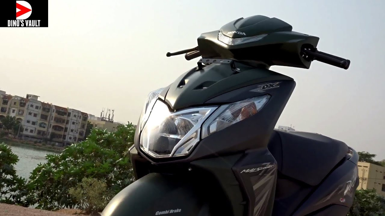 2018 Honda Dio Dx First Ride Review Scooterfest Youtube