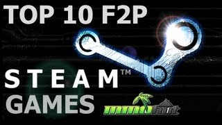 Top Ten Free to Play Steam Games(Thats right, as requested MMOHut's Top Ten F2P Steam Games! We took our favorite, as well as many of the communities favorite, Free to Play games on Steam ..., 2013-05-08T16:28:59.000Z)