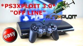 DESBLOQUEIO PS3: TUTORIAL PS3XPLOIT 3.0 OFF LINE SEM INTERNET HAN ENABLE