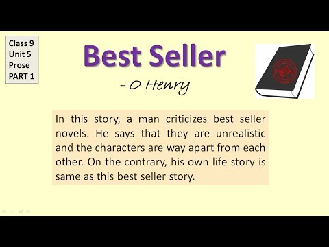 "CBSE class 9 English ""Best Seller"" Part 1- explanation in Hindi, Question answers , Summaru"
