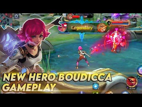 New Hero Boudicca Gameplay - Mobile Legends [ UNFINISHED ]