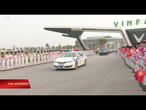 Đoàn lãnh đạo Triều Tiên thăm Vinfast ở Hải Phòng (VOA)