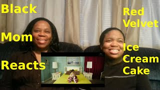 black mom reacts to red velvet 레드벨벳 ice cream cake