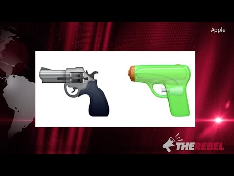 Apple Makes IPhones Safe For SJWs: Gun Emoji Now A Water Pistol
