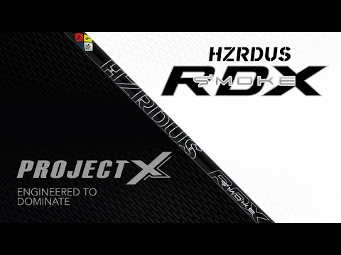 Project X HZRDUS Smoke Black RDX 70 Graphite Shaft + Adapter & Grip