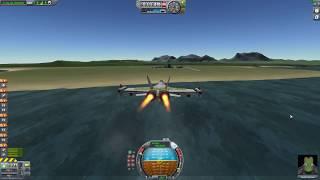Kerbal Space Program f 18 super hornet