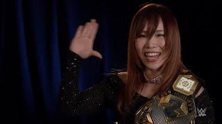 Kairi Sane is ready for her NXT Title defense at WWE Evolution