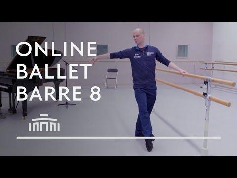 Ballet Barre 8 (Online Ballet Class) - Dutch National Ballet