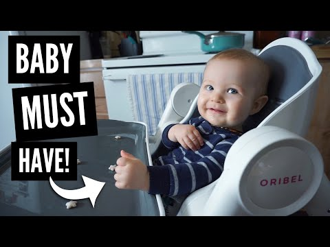Oribel Cocoon Highchair | Unboxing & Review